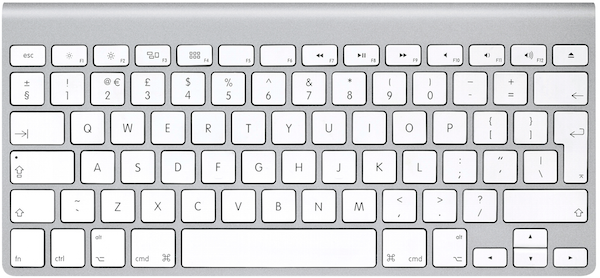 macbook - osx - keyboard layout